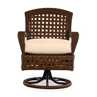 Lloyd Flanders Haven Swivel Dining Chair - 43071