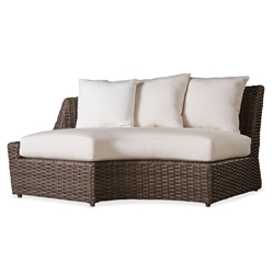 Lloyd Flanders Largo Right Curved Sectional - 241056