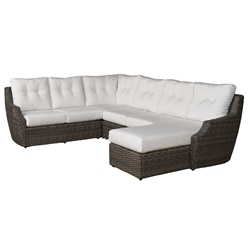 Lloyd Flanders Largo Wicker L-Sectional - LF-LARGO-SET10