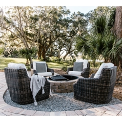 Lloyd Flanders Largo Lounge Chair Set of 4 - LF-LARGO-SET8
