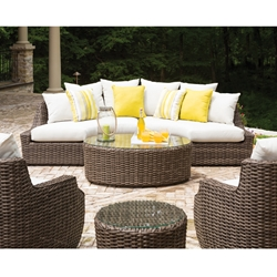 Lloyd Flanders Largo Curved Sectional Set - LF-LARGO-SET3