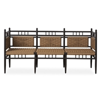 Lloyd Flanders Low Country 3-Seat Garden Bench - 77237