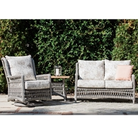 Lloyd Flanders Mackinac 3 Piece Patio Set - LF-MACKINAC-SET11