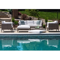 Lloyd Flanders Martinique Wicker Patio Set - LF-MARTINIQUE-SET3