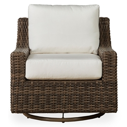 Mesa Woven Vinyl Swivel Glider Lounge Chair