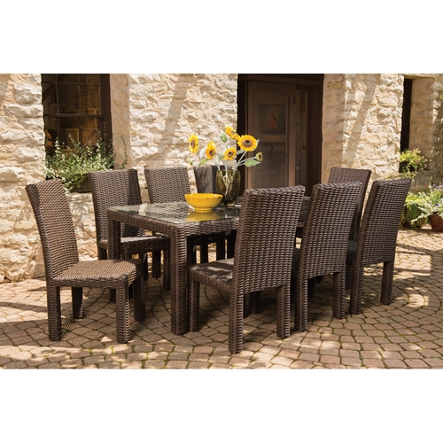 Lloyd Flanders Mesa 9 Piece Patio Dining Set - LF-MESA-SET1