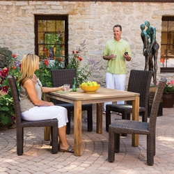 Lloyd Flanders Mesa 5 Piece Patio Dining Set - LF-MESA-SET5
