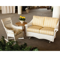 Lloyd Flanders Nantucket 3 Piece Patio Porch Set - LF-NANTUCKET-SET5