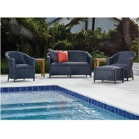 Lloyd Flanders Reflections Padded Seat Outdoor Wicker Set - LF-REFLECTIONS-SET24