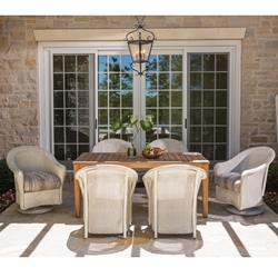 Lloyd Flanders Reflections 7 Piece Patio Dining Set - LF-REFLECTIONS-SET11