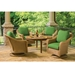 Lloyd Flanders Reflections Loom Wicker Swivel Rocker Lounge Chair Set - LF-REFLECTIONS-SET3