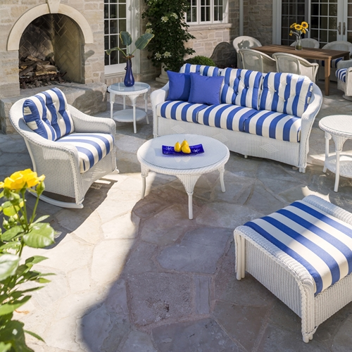 Lloyd Flanders Reflections 6 Piece Patio Sofa Set - LF-REFLECTIONS-SET9