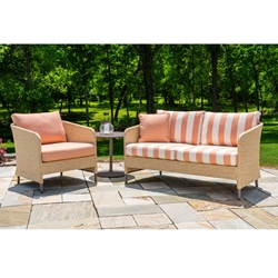 Lloyd Flanders Verona Loveseat and Lounge Chair Set - LF-VERONA-SET3