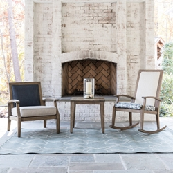 Lloyd Flanders Wildwood Outdoor Rocking Chair and Lounge Chair Set - LF-WILDWOOD-SET8