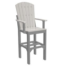 LuxCraft Adirondack Bar Arm Chair - AACB