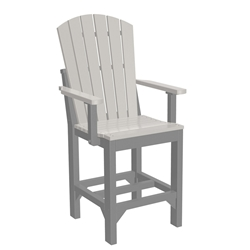 LuxCraft Adirondack Counter Arm Chair - AACC