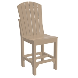 LuxCraft Adirondack Counter Side Chair - ASCC