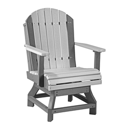 LuxCraft Adirondack Dining Swivel Chair - PASCD