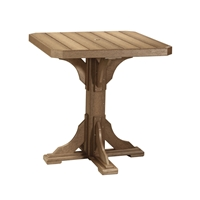 "LuxCraft 41"" Square Bar Table - P41STB"