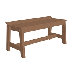 "LuxCraft Cafe Dining Bench - 41"" - CDB41"