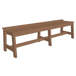"LuxCraft Cafe Dining Bench - 72"" - CDB72"