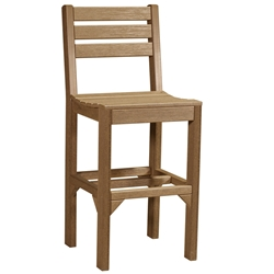 LuxCraft Island Bar Side Chair - ISCB