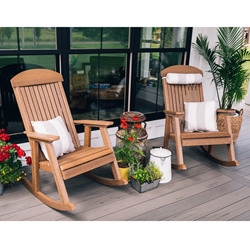 LuxCraft Set of 2 Porch Rockers - LC-CLASSIC-SET19