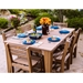LuxCraft Classic Island Poly Patio Dining Set - LC-CLASSIC-SET2