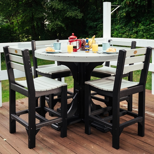LuxCraft Classic Counter Height Patio Set for 4 - LC-CLASSIC-SET5