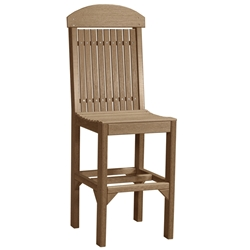 LuxCraft Regular Bar Chair - PRCB