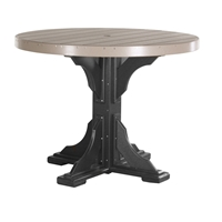 LuxCraft  4' Round Counter Height Table - P4RTC