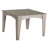 "LuxCraft 44"" Square Island Dining Table - IDT44S"