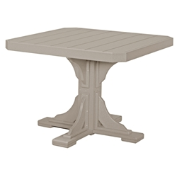 "LuxCraft 41"" Square Dining Table - P41STD"