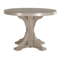 LuxCraft 4' Round Dining Table - P4RTD