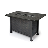 "Mallin Cambria 58"" x 35"" Rectangular Counter Height Fire Table - 9000 Cast Top - MF265-9260F"