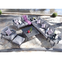 Mallin Dakoda Modern Cushion Patio Sectional - ML-DAKODACUSHION-SET1