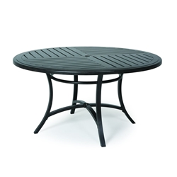 "Mallin Fulton 54"" Round Umbrella Dining Table - 4-054U"