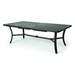 "Mallin Fulton Rectangular Extension Umbrella Table - 86"" to 128"" - F-820U"