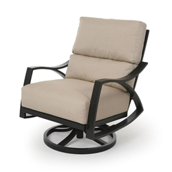 Mallin Heritage Cushion Swivel Rocking Lounge Chair - HE-486