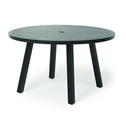 "Mallin Kensington 50"" Round Umbrella Dining Table - KN-050U"