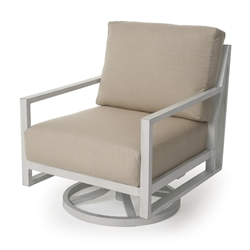 Mallin Madeira Cushion Swivel Rocking Lounge Chair - MA-486