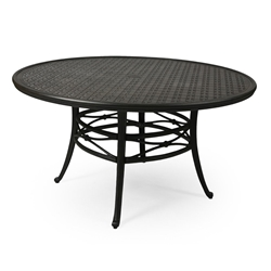 "Mallin Napa 54"" Round Umbrella Dining Table - 9-054U"