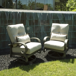 Mallin Salisbury Swivel Rocker Lounge Chairs - Set of 2 - ML-SALISBURY-SET3