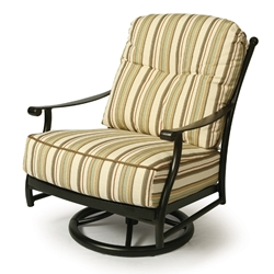 Mallin Seville Cushion Swivel Rocking Lounge Chair - SE-886