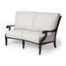 Mallin Turin Cushion Crescent Love Seat - TX-892