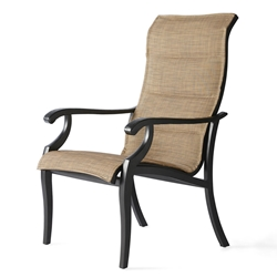 Mallin Turin Padded Sling Dining Arm Chair - TX-320
