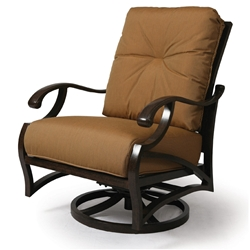 Mallin Volare Cushion Swivel Rocking Lounge Chair - VO-886