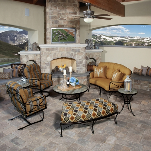 OW Lee Cambria 7 Piece Patio Lounge Set - OW-CAMBRIA-SET4