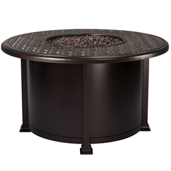 "OW Lee Richmond 42"" Round Chat Fire Table - 5134-42RDC"