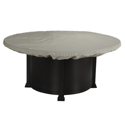 OW Lee 54 inch round Hearth Top Fabric Cover - 51-24CV